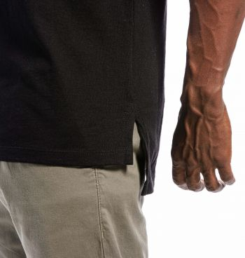Camiseta Masculina Long Skull