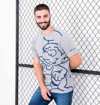 Camiseta Full Print Smurfs