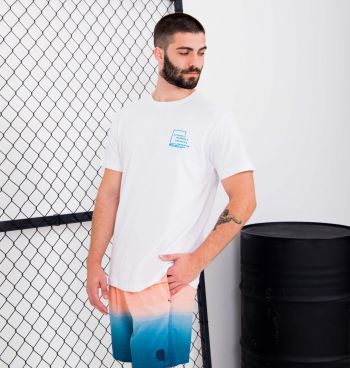 Camiseta Básica Estampa Surf