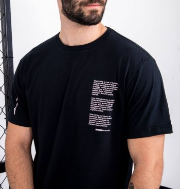 Camiseta Básica Estampa Diagramming