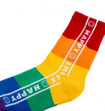 Meia Cano Médio Colors LGBT