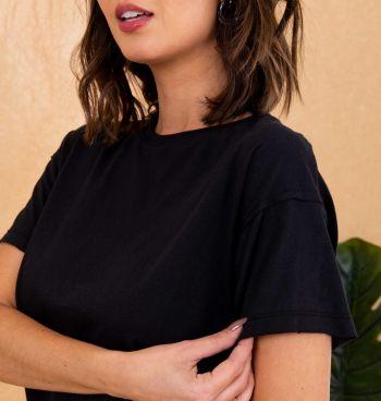 Camiseta Básica Over A Fio