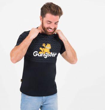 Camiseta Manga Curta Garfield