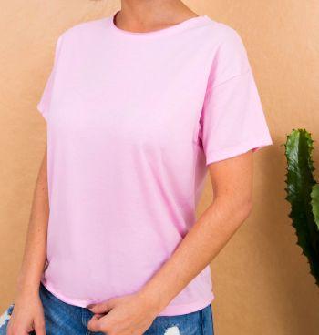 Camiseta A Fio Malha Lisa