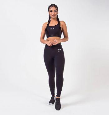 Calça Legging Fila Feminina Elastic Antiviral