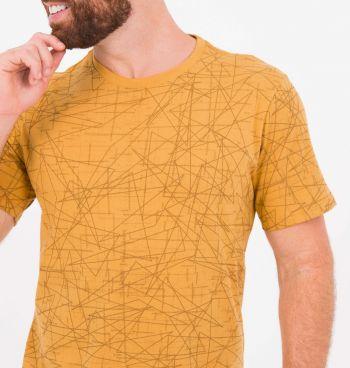 Camiseta Estampada Abstract