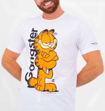 Camiseta Masculina Garfield