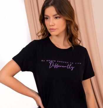 Camiseta Estampa Be Brave