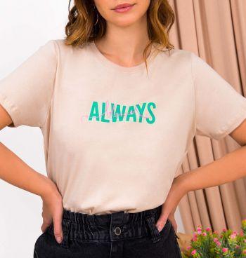 Camiseta Estampa Blessed
