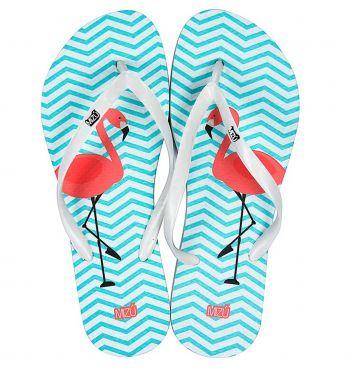 Chinelo Flamingos