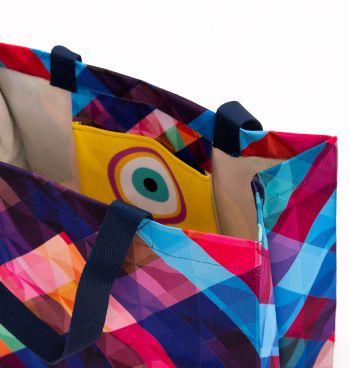 Bolsa Quadrada Olho Grego