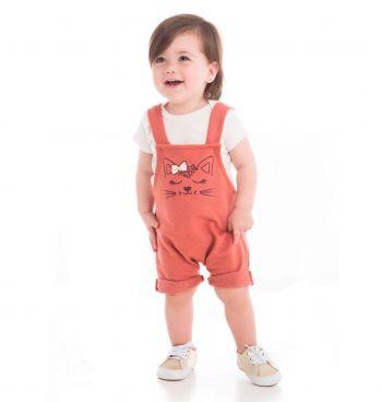 JARDINEIRA INFANTIL COM BODY