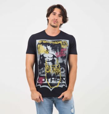 CAMISETA ESTAMPA BATMAN