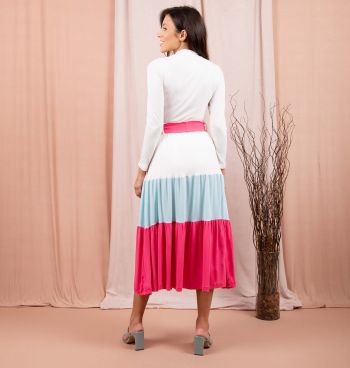 SAIA MIDI COLOR BLOCK