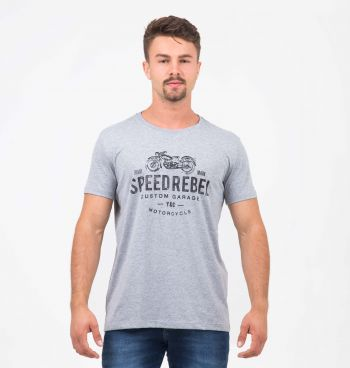 CAMISETA ESTAMPADA SPEED REBEL