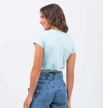 BLUSA CROPPED VISCO BARRA LASTEX