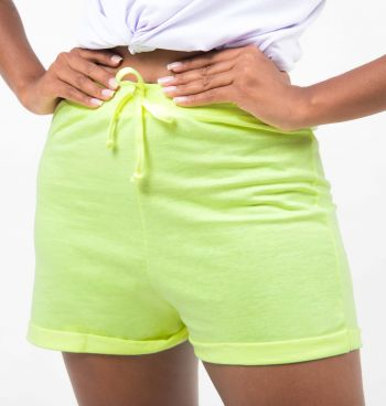SHORT BARRA VIRADA NEON BEACHWEAR