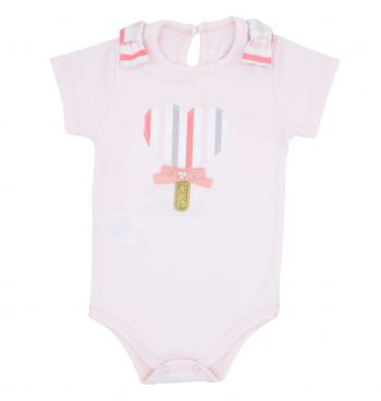 CONJUNTO INFANTIL BODY E SHORT PIRULITO