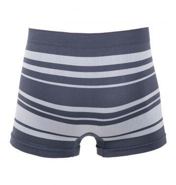 Cueca Boxer Sem Costura Light Stripes