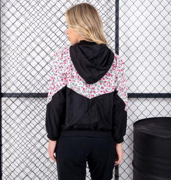 Jaqueta Corta Vento Color Estampada