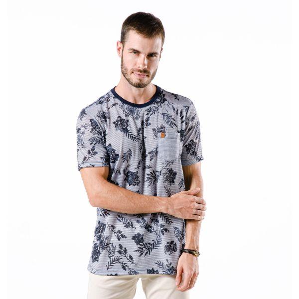 Camiseta Masculina Full Roses
