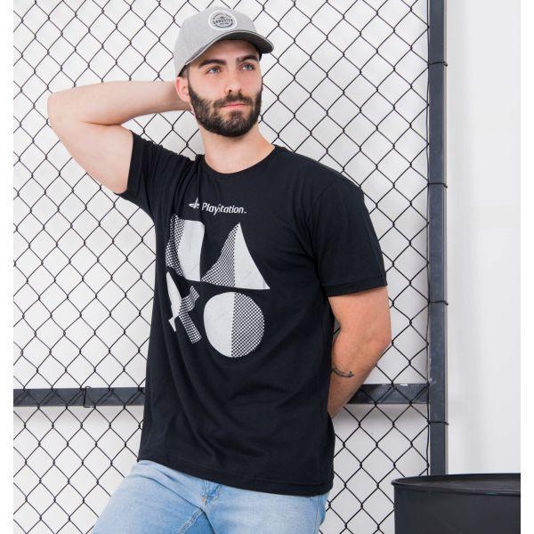 Camiseta Mangas Curtas Gamer Glitter