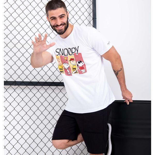 Camiseta Estampada Turma Do Snoopy