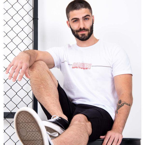 Camiseta Gangster Estampa Frente e Costas