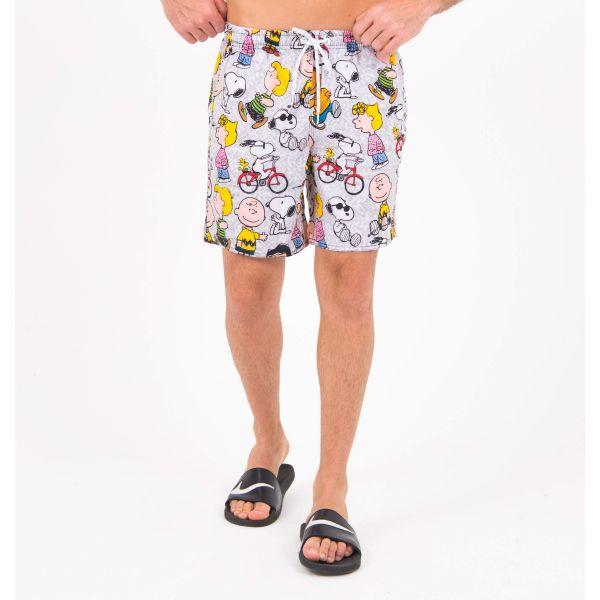 Short Beach Gangster Snoopy