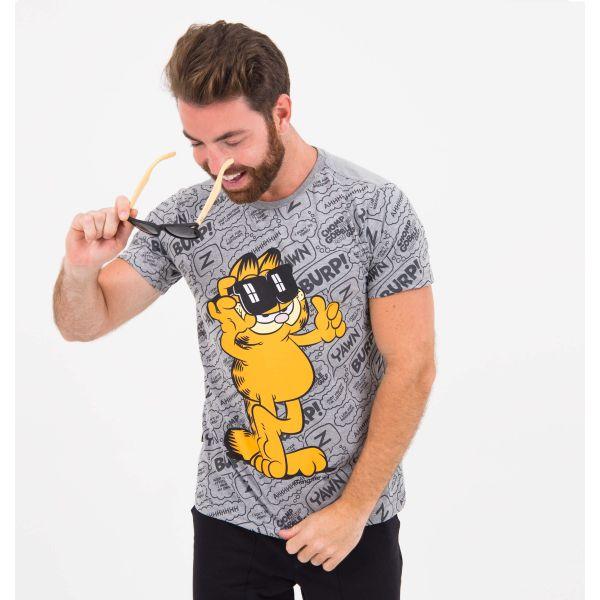 Camiseta Gangster Gibi Garfield