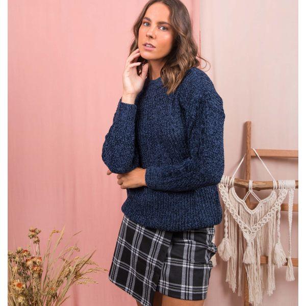 Suéter Tricot Gola Fechada