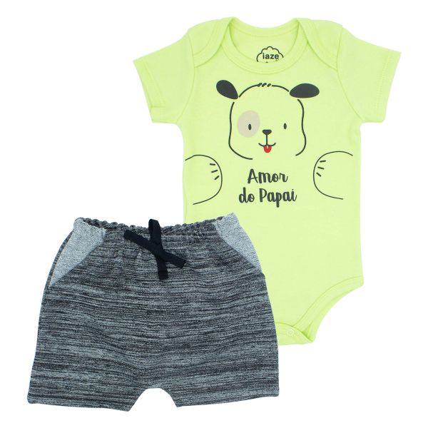 CONJUNTO CURTO AMOR DO PAPAI