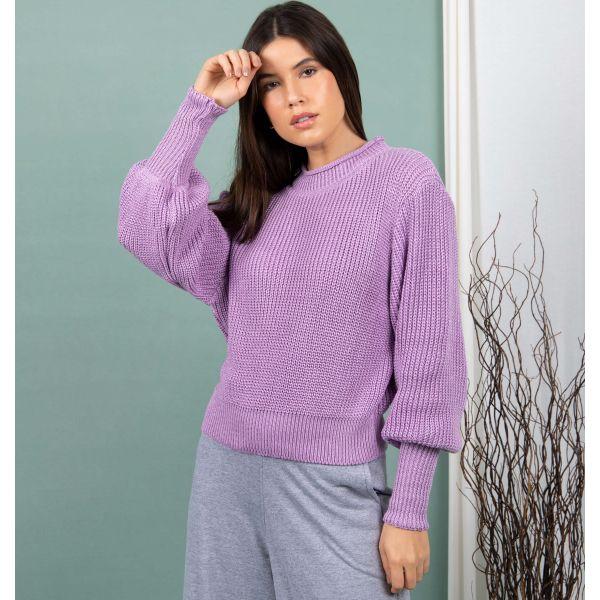 Blusão Tricot Cropped