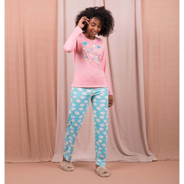 Conjunto Pijama Especial Carneirinhos