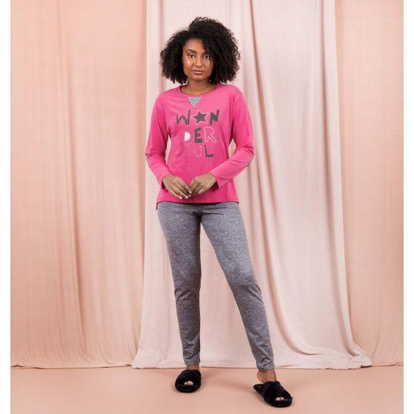 Conjunto Pijama Elegance Wonderful