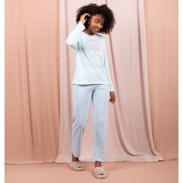 Conjunto Pijama Comfort Vida Bela