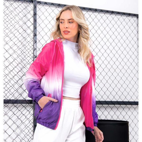 Jaqueta Corta Vento Degradê Color