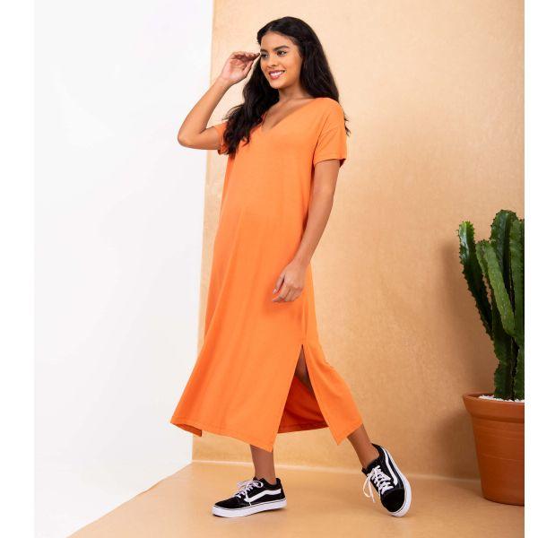 Tee Dress Decote V